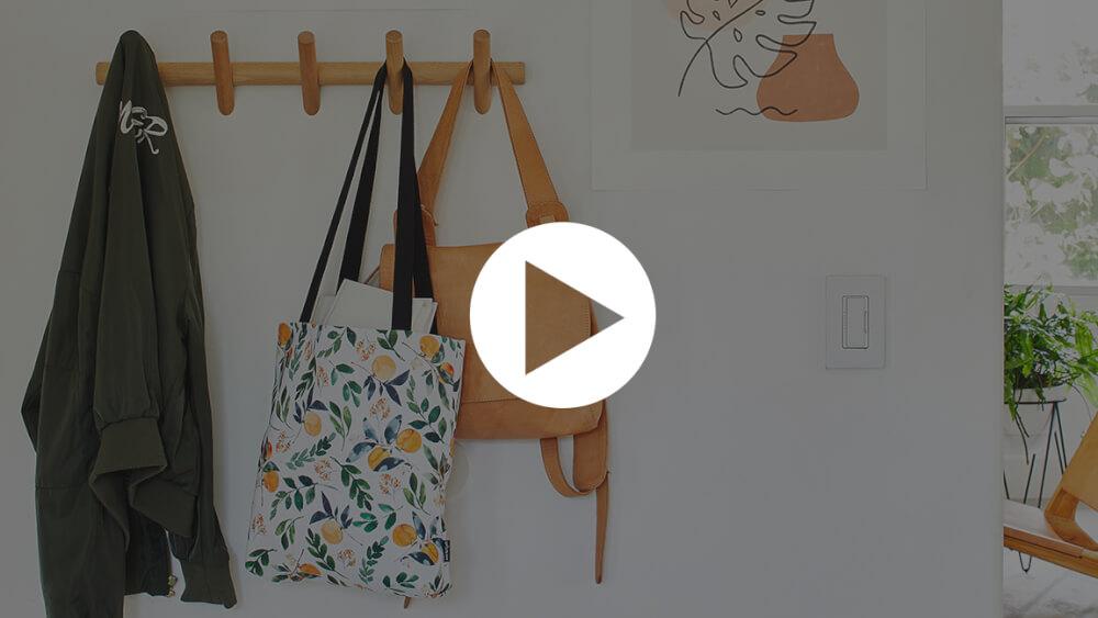 Flowers orange Tote Bag