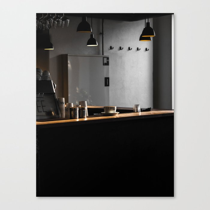 The Coffee Shop Leinwanddruck