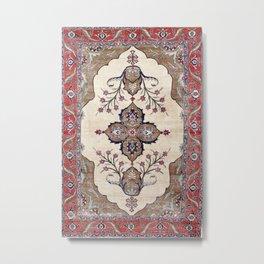 Khoy  Antique Azerbaijan Persian Rug Print Metal Print