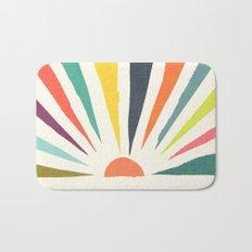 Rainbow ray Bath Mat