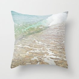Rolling In Throw Pillow