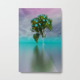 just a fancy tree -201- Metal Print