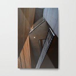 Building Lines Metal Print