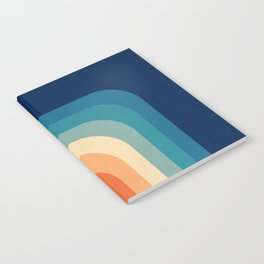 Retro 70s Color Palette III Notebook