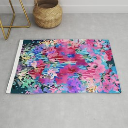 Red Poppy Evening Rug