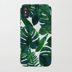 Perceptive Dream || #society6 #tropical #buyart iPhone X Slim Case