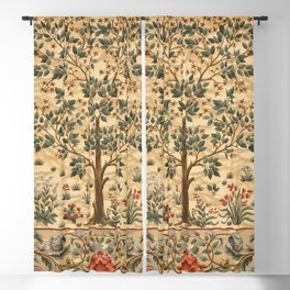 "William Morris ""Tree of life"" 3. Blackout Curtain"