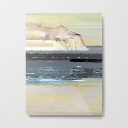 Calm Nordic Lands Metal Print