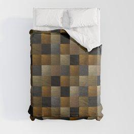Gold deco art Comforters