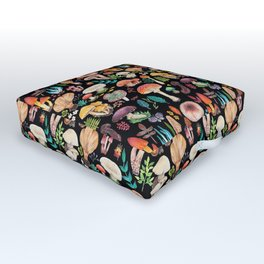 Mushroom heart Outdoor Floor Cushion
