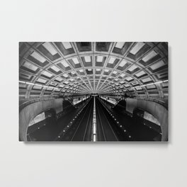 Metro DC Metal Print