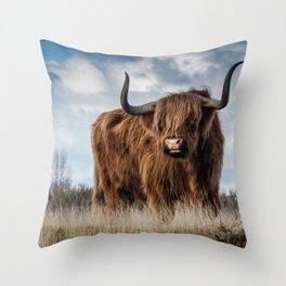 Highlander 2 Throw Pillow