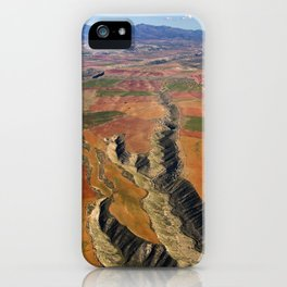 Baza Plateau. Canyon River Gor. Baza Natural Park iPhone Case