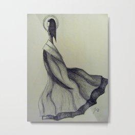 Dress Design Metal Print