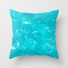 Turning Tide Throw Pillow