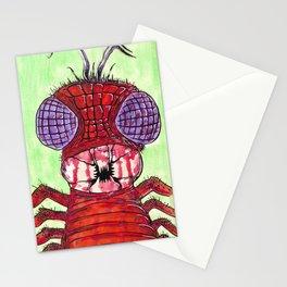 Larva Larvae Stationery Cards