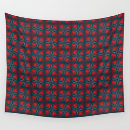 Rolling Rocket Red Wall Tapestry