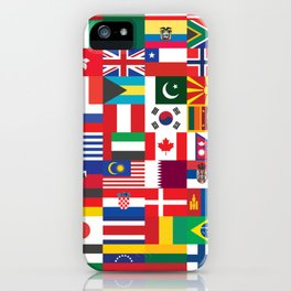 All Flags iPhone Case