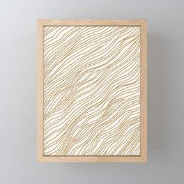 Metallic Wood Grain Framed Mini Art Print