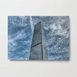 Skyscraper in Shenzhen (China) (2018-6-SHZ13) Metal Print