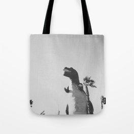 DINO / Cabazon Dinosaurs, California Tote Bag
