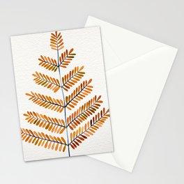 Autumn Leaflets Stationery Cards