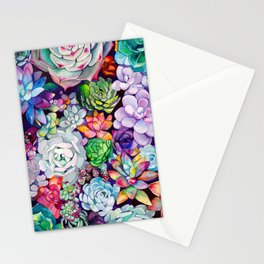 Succulent Garden Stationery Cards