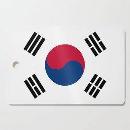 South Korean Flag Cutting Board
