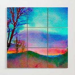 Rainbow, The Eden of Creativity Wood Wall Art