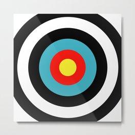 Target (Archery) Metal Print