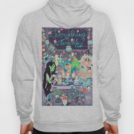 Everything is terrible café Hoody