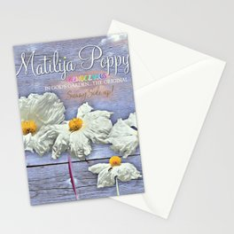 Poppies Rendezvous Stationery Cards