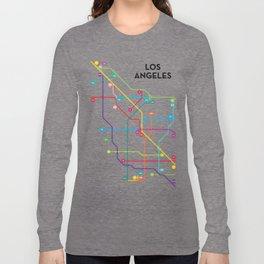 Los Angeles Freeway System Long Sleeve T-shirt