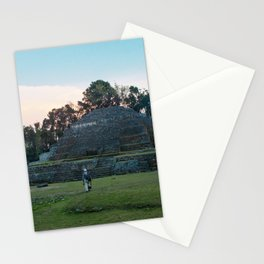 Jaguar Temple Stationery Cards