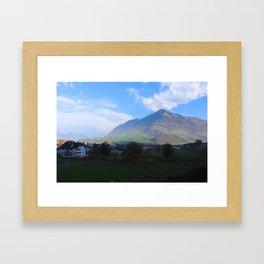 THE HILLS ARE ALIVE . . . Framed Art Print