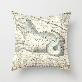 Cetus Constellation, Celestial Atlas Plate 23, Alexander Jamieson Throw Pillow