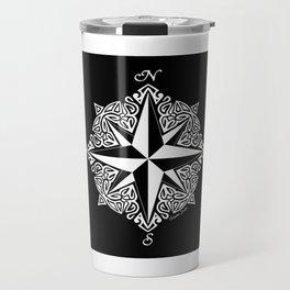 Cindy's Tribal Compass Rose Travel Mug