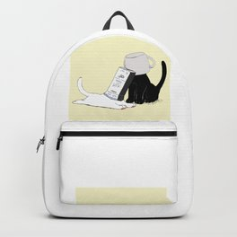 Your Yellow Quirky Cats  Backpack