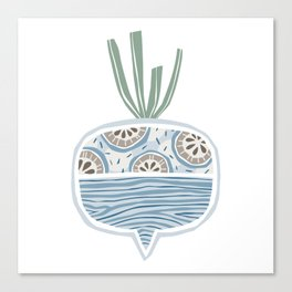Turnip Canvas Print