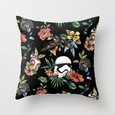 The Floral Awakens Throw Pillow