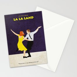 La La Land Alternative Minimalist Film Poster Stationery Cards