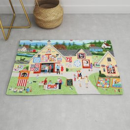 The Calico Cat Quilt Shop Rug