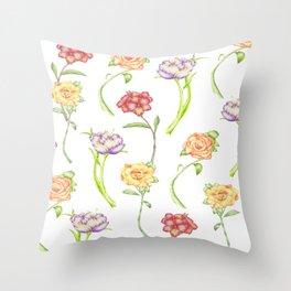 Flower Showers Throw Pillow