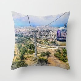 Trapani art 7 Throw Pillow