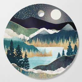 Star Lake Cutting Board