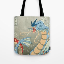 The Great Red Wave II Tote Bag
