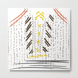 Balanç Metal Print