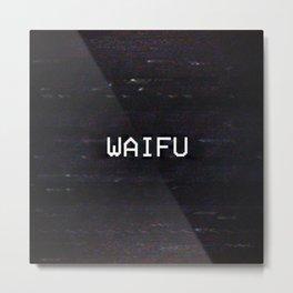 WAIFU Metal Print