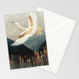 Elegant Flight Stationery Cards