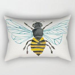 Honey Bee Rectangular Pillow